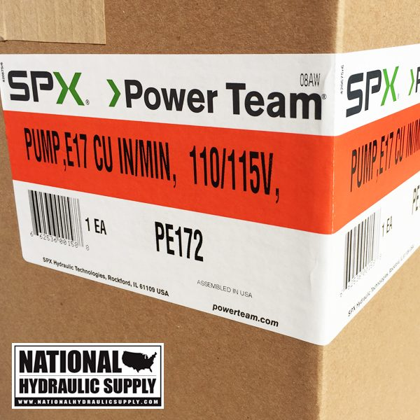Power Team PE172 Pump