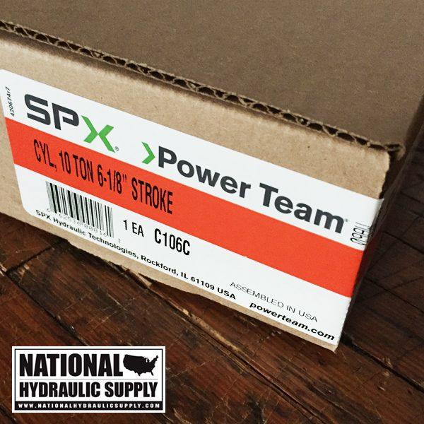 Power Team C106C. Single-Acting Hydraulic Cylinder.